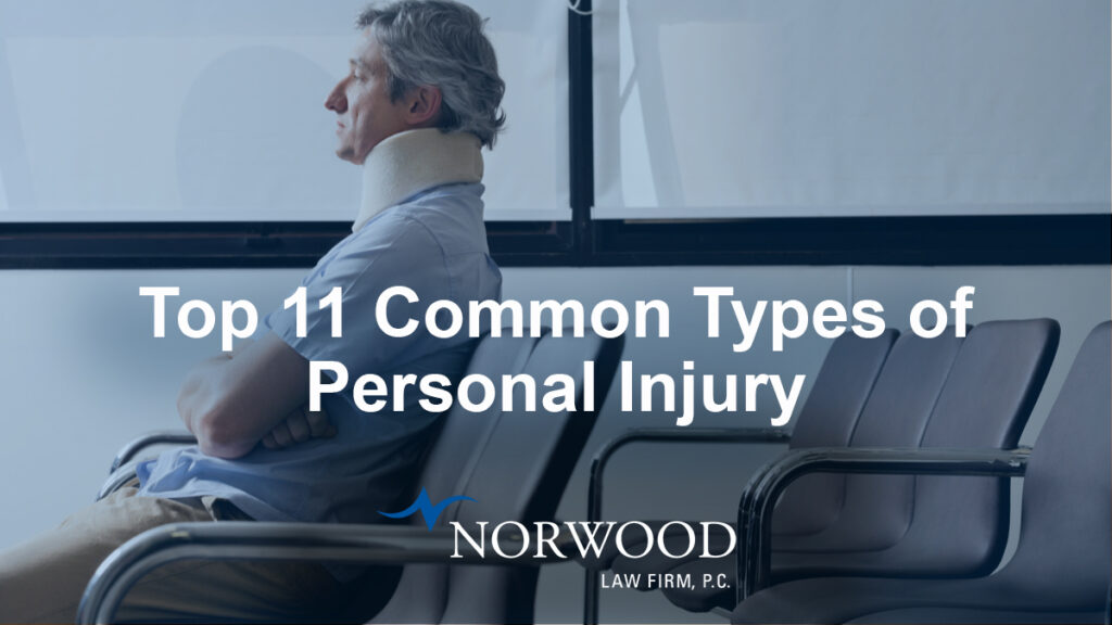 Top Types of Personal Injury